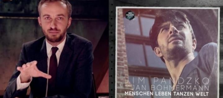 """Jim Pandzko feat. Böhmermann – """"Menschen Leben Tanzen Welt"""" erobert die Charts"""